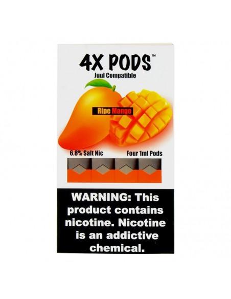 Ripe Mango - 4X Pods Juul Compatible 6.8% 4pcs:0 US