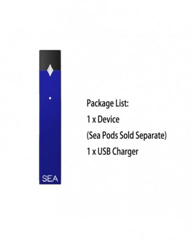 SEApods Device - JUUL Compatible Blue Device 1pcs:0 US