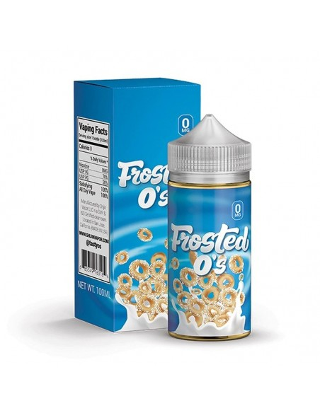Tasty O's Vape Juice - Frosted O's 0