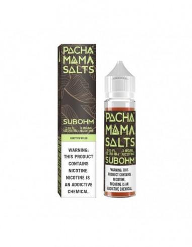 Pachamama Ejuice - Honeydew Melon Subohm Salts 0mg 60ml:0 US