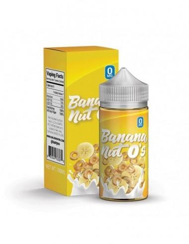 Tasty O's Vape Juice - Banana Nut O's 0mg 100ml:0 US