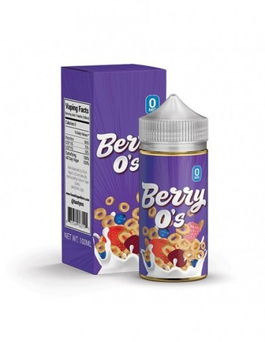 Tasty O's Vape Juice - Berry O's 0mg 100ml:0 US