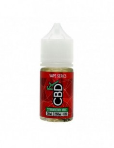 CBDfx Vape Juice - Strawberry Milk 0