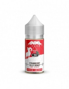 CBDfx Vape Juice - Anml Alchemy Strawberry Jelly Donut 0