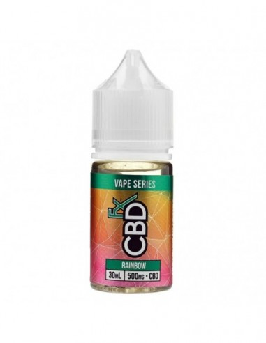CBDfx Vape Juice - Rainbow Candy 250mg 30ml:0 US