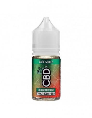 CBDfx Vape Juice - Strawberry Kiwi 250mg 30ml:0 US