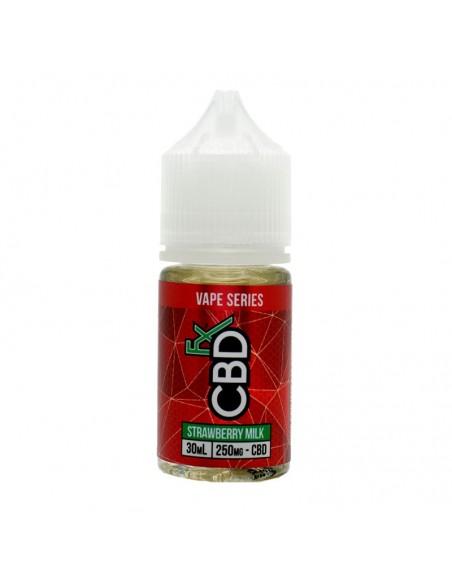 CBDfx Vape Juice - Strawberry Milk 500mg 30ml:0 US