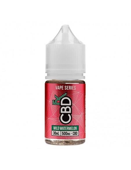 CBDfx Vape Juice - Wild Watermelon 500mg 30ml:0 US