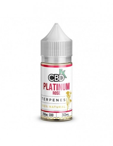 CBDfx Vape Oil - Platinum Rose 250mg 30ml:0 US