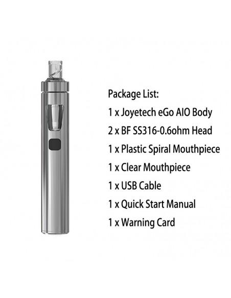 Joyetech eGo AIO Silver Kit 1pcs:0 US