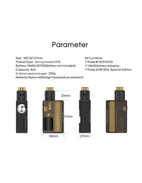Vandy Vape PULSE BF KIT 1