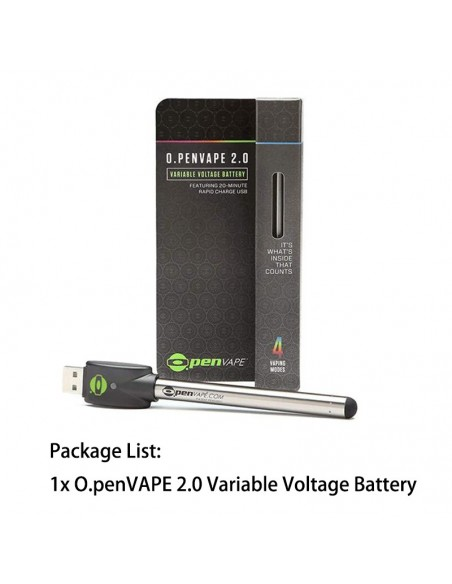 O.Pen Vape 2.0 Variable Voltage Battery 1