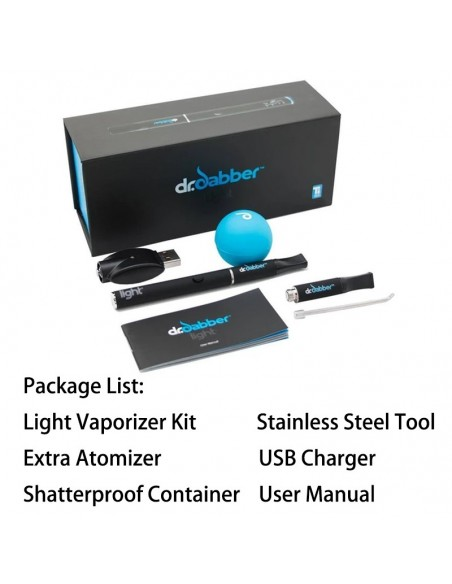 Dr. Dabber Light Vaporizer Kit For Wax/Dabs Light Full Kit 1pcs:0 US