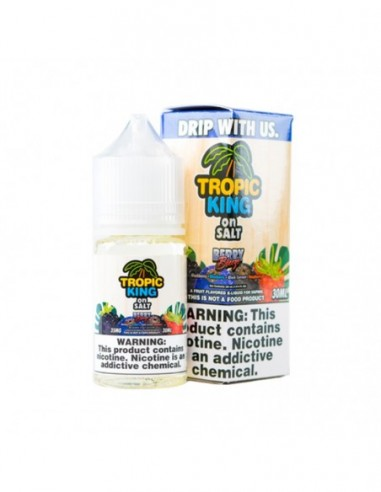 Tropic King On Salt E-juice 30ml Collection Berry Breeze 35mg:0 US