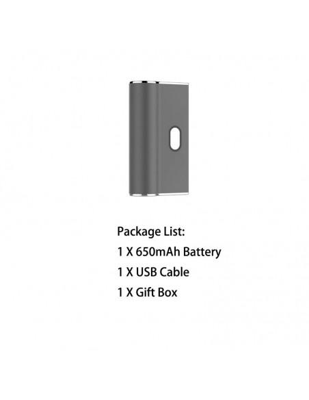 Airistech Airis Janus Battery For 510 Thread/Juul Pods Grey Mod 1pcs:0 US