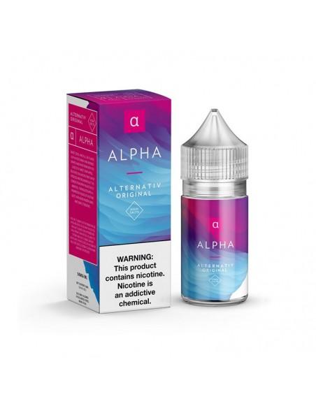 Alternativ Nic Salt Vape Juice 30ml Alpha 35mg:0 US