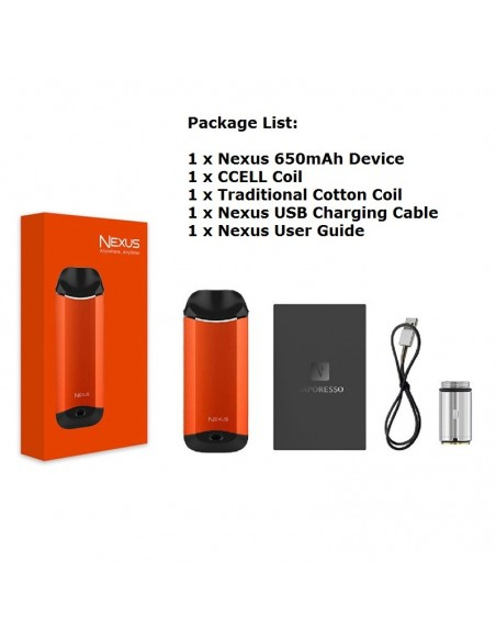 Vaporesso Nexus AIO 650mAh Starter Kit | 2ml Tank 1