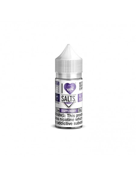 Mad Hatter I Love Salt E-liquid 30ml Collection Grappleberry 50mg:0 US