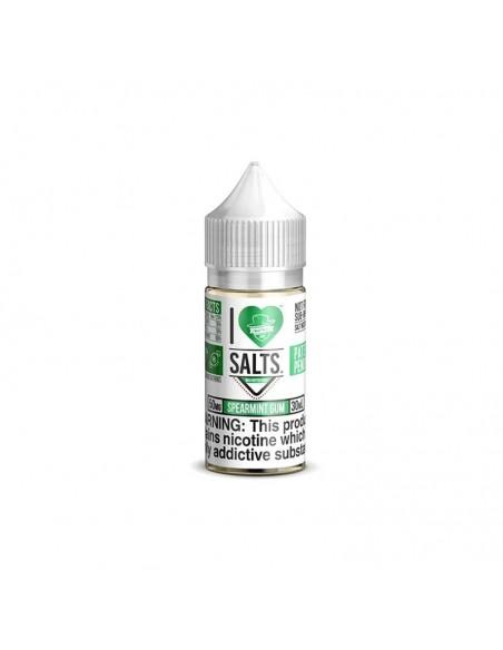 Mad Hatter I Love Salt E-liquid 30ml Collection Spearmint Gum 50mg:0 US