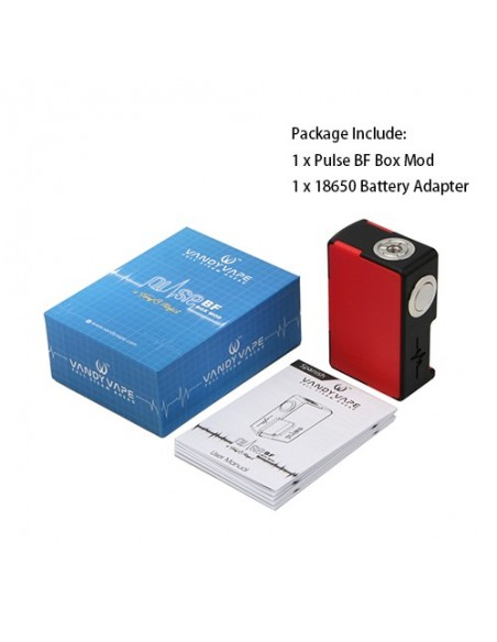 Vandy Vape Pulse BF Box Mod 8ml 1