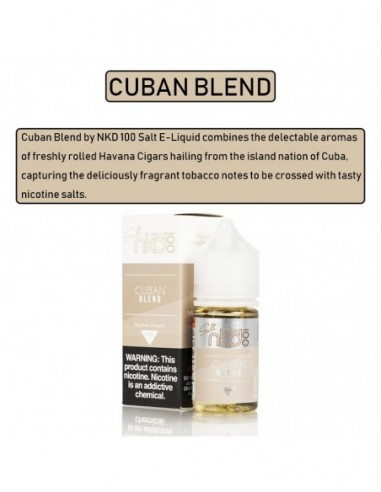NAKED 100 Salt E-Liquid 30mL Collection C-b-n Blend 50mg:0 US