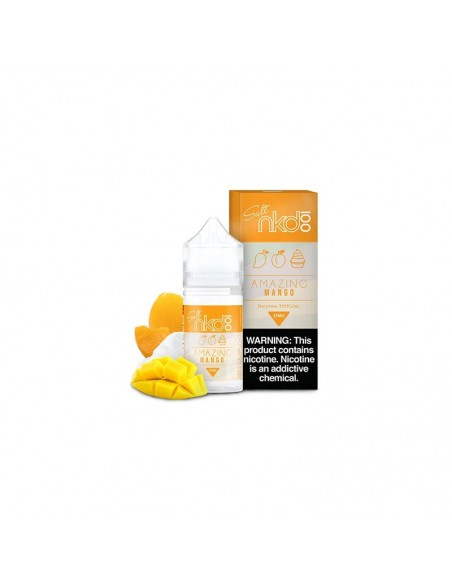 NAKED 100 Salt E-Liquid 30mL Collection Amazing Mango 35mg:0 US