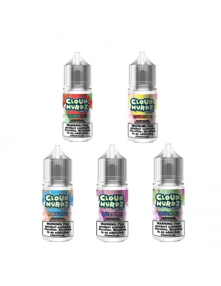 Cloud Nurdz Salt Nic E-liquid 30ml Collection 0