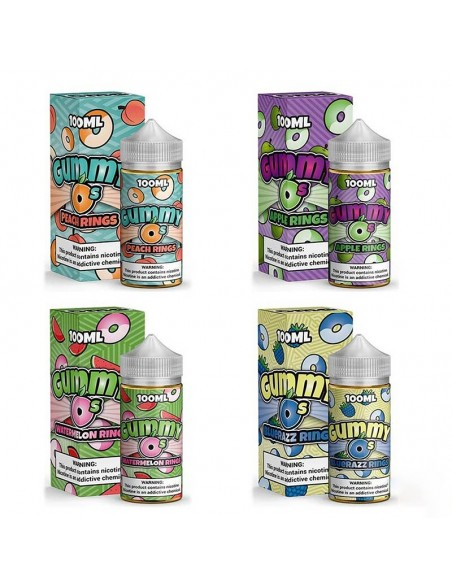 Gummy O's Vape Juice 100ml Collection 0