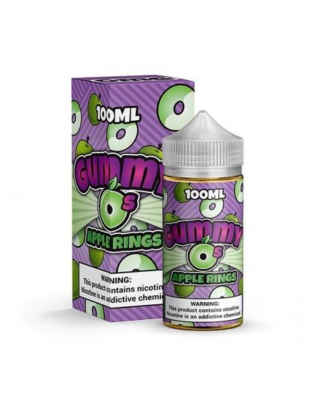 Gummy O's Vape Juice 100ml Collection Apple Rings 0mg:0 US