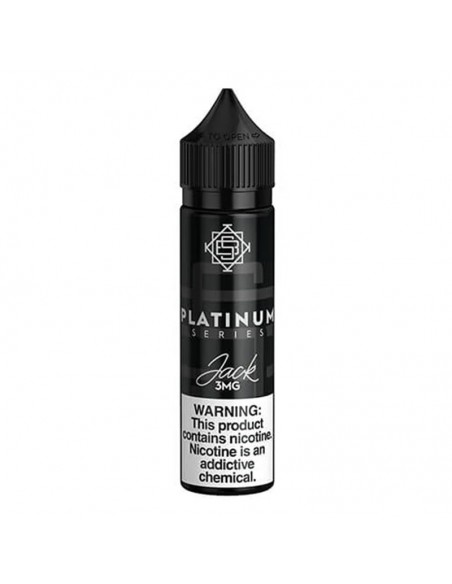 Silverback Juice Co Platinum Vape Juice 60ml Jack 0mg:0 US