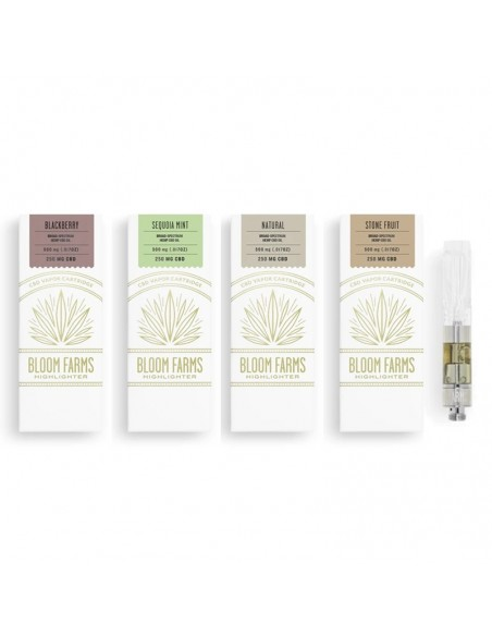 Bloom Farms CBD Mini Vape Cartridge 250mg 0