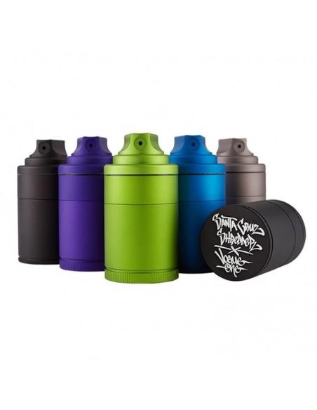 Santa Cruz Shredder Vogue Aluminum 3 Peice Spray Grinder 0