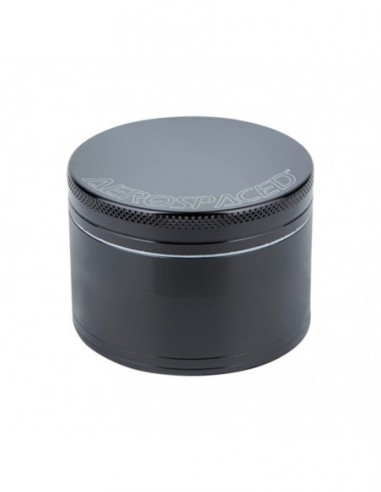 "Aerospaced 4 Piece Grinder Black 1.6""(40mm) 1pcs:0 US"