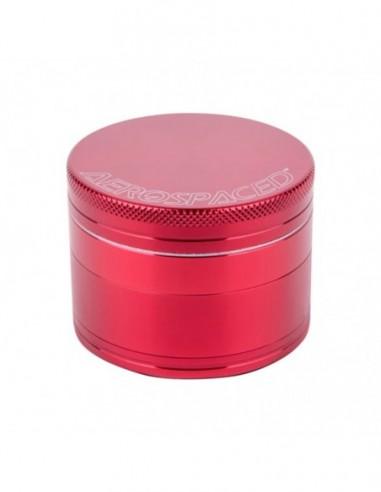 "Aerospaced 4 Piece Grinder Red 1.6""(40mm) 1pcs:0 US"