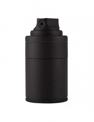 Santa Cruz Shredder Vogue Aluminum 3 Peice Spray Grinder Matte Black 1pcs:0 US