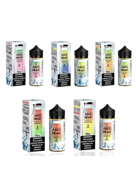 Juice Head Freeze E-Liquid 100ml Collection 0