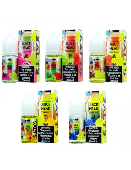 Juice Head Salts E-Liquid 30ml Collection 0