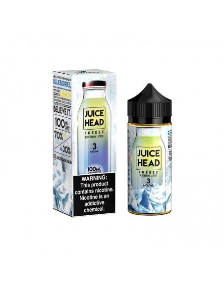 Juice Head Freeze E-Liquid 100ml Collection Blueberry Lemon 0mg 1pcs:0 US