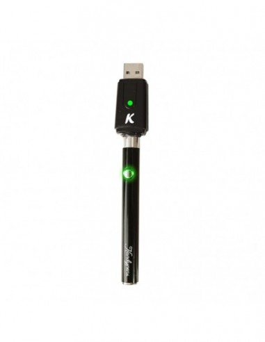 Kandypens 350mah Battery w/USB Charger Black 1pcs:0 US