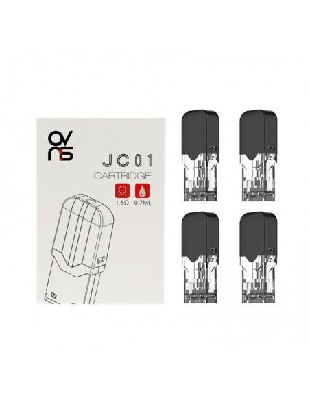 Ovns JC01 Refillable Pods 4pcs JC01 Ceramic Pod 1.5ohm 4pcs:0 US