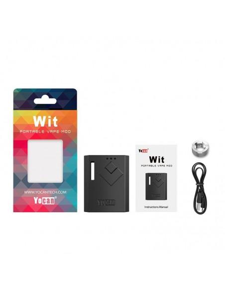Yocan Wit Box Mod 510 Thread Battery 500mAh 1