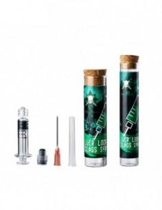 LTQ Vapor Luer Lock Glass Syringe 0