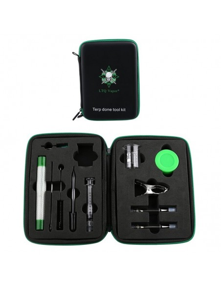 LTQ Vapor Terp Done Tool Kit For Thick Oil Tool Box 1pcs:0 US