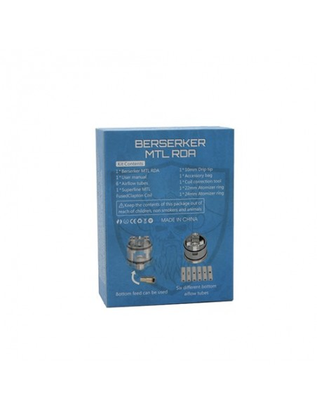 Vandy Vape Berserker MTL RDA 22mm/24mm 9