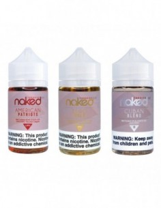 Naked 100 Tob E-Liquid 60ml Collection 0