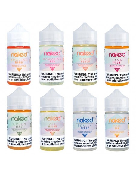 Naked 100 E-Liquid 60ml Collection 0