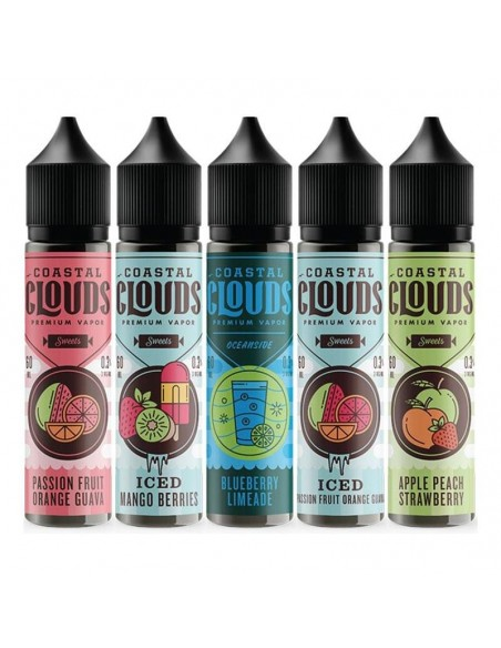 Coastal Clouds E-Liquid 60ml Collection 0