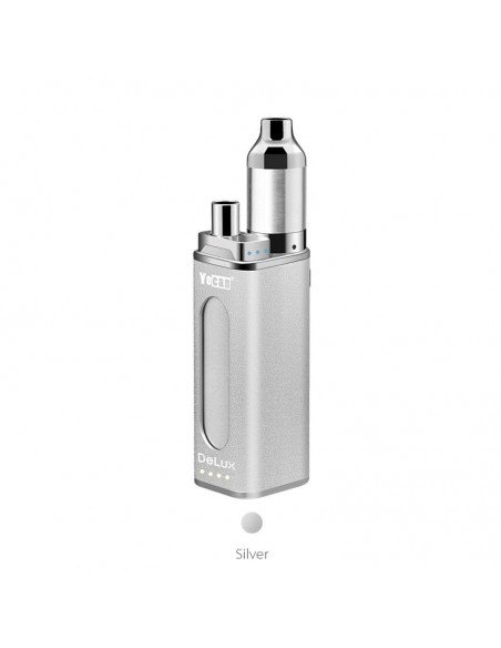 Yocan Delux 2 in 1 Vaporizer Silver kit 1pcs:0 US