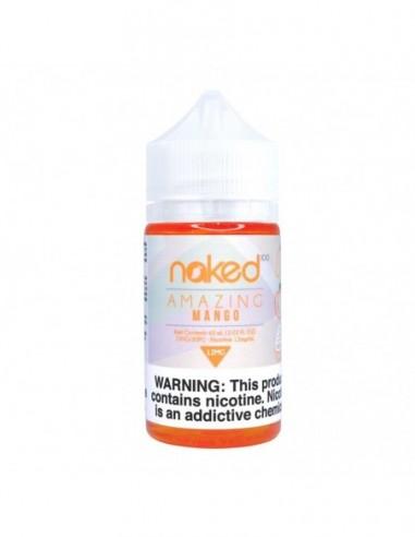 Naked 100 E-Liquid 60ml Collection Amazing Mango 0mg 1pcs:0 US