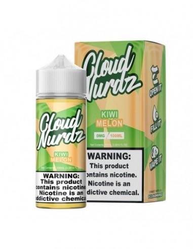 Cloud Nurdz E-Liquid 100ml Collection Kiwi Melon 0mg 1pcs:0 US